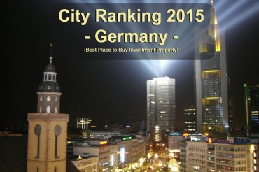 Best Place to Buy Investment Property – City Ranking Germany – Prognosis
