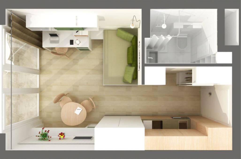 exclusive micro apartments berlin iii financial services. Black Bedroom Furniture Sets. Home Design Ideas
